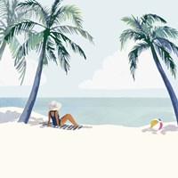 Palm Tree Paradise I Framed Print