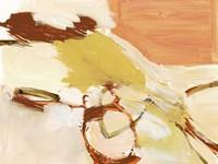 Saffron & Sienna I Framed Print