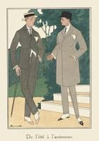 Men's Fashion III Framed Print