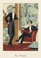 Men's Fashion IV Framed Print