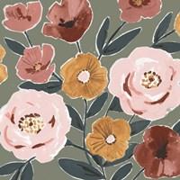Fair Flowers I Framed Print