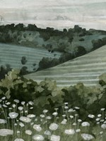 Rolling Pasture I Framed Print