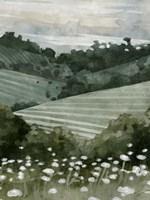 Rolling Pasture II Framed Print