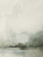 Heavy Fog II Framed Print