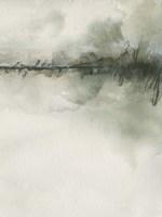 Scripted Landscape I Framed Print