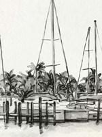 Neutral Tropics I Framed Print