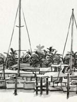 Neutral Tropics II Framed Print