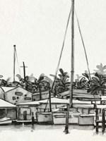 Neutral Tropics III Framed Print