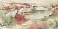 Rust Grasslands II Framed Print