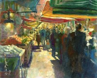 Market Scene I Fine Art Print