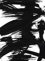 Black Bamboo I Framed Print