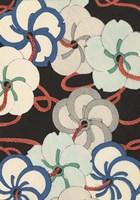 Japanese Graphic Design IV Framed Print