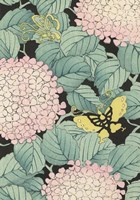 Japanese Floral Design I Framed Print