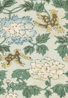 Japanese Floral Design II Framed Print