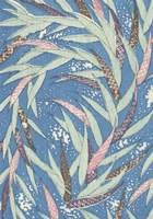 Japanese Floral Design V Framed Print