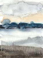 Lakeview Sunset I Framed Print