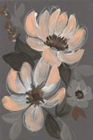 Peach & Sienna Bouquet I Framed Print