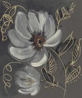 Floral Filigree II Framed Print