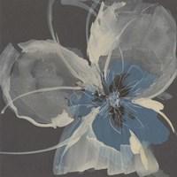 Expressive Petals I Framed Print