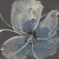 Expressive Petals II Framed Print