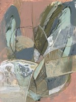 Abstract Zag I Framed Print