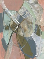 Abstract Zag II Framed Print