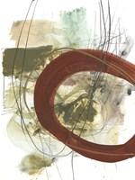 Rusted Loops II Framed Print
