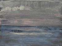 Breaking Sea I Framed Print