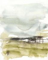 Moody Moor I Framed Print