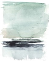 Teal Moor I Framed Print