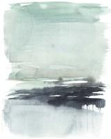 Teal Moor II Framed Print