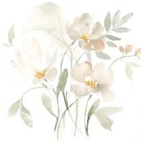 Whispering Petals I Framed Print