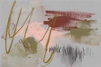 Scribbles & Paint II Framed Print