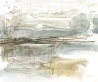 Stark Neutral Landscape I Framed Print