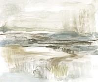 Stark Neutral Landscape II Framed Print