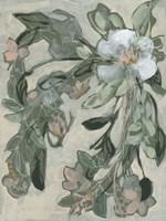Cascading Bouquet II Framed Print