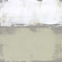 The Subtlest Horizon I Framed Print