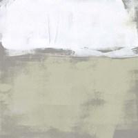 The Subtlest Horizon II Framed Print