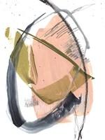 Orbital Marks I Framed Print