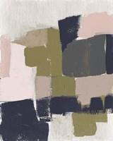 Revised Color Block I Framed Print