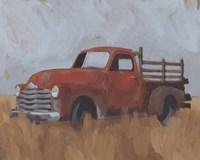 Farm Truck IV Framed Print