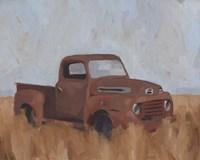 Farm Truck V Framed Print