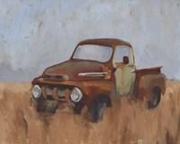 Farm Truck VI Framed Print