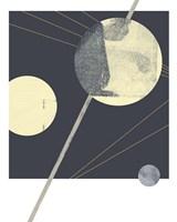 Planetary Weights III Framed Print