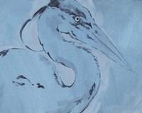 James River Heron I Framed Print