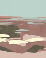 Saltwater Sea I Framed Print