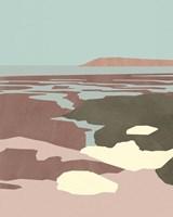Saltwater Sea II Framed Print