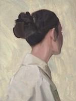 Female Portrait I Framed Print