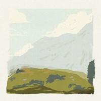 Alpine Ascent II Framed Print