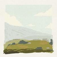 Alpine Ascent III Framed Print